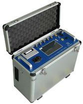 Stack gas analyzer / sulfur / oxygen / carbon dioxide