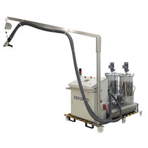 Volumetric mixer-dispenser / with gear pump / two-component