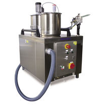 Two-component resin mixer-dispenser / volumetric / with gear pump