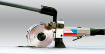 Manually-controlled cutting machine / plastic / rubber / for fabrics