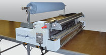 Manual spreading machine / semi-automatic / for textiles