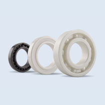 Ball bearing / single-row / ceramic