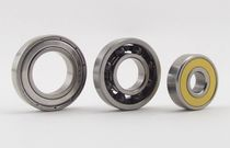 Ball bearing / single-row / ceramic / hybrid