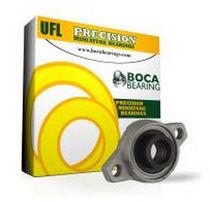 Flange bearing unit / zinc / compact