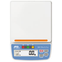 Benchtop scale / with LCD display / with comparator lights / compact