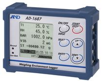 Temperature data-logger / RS-232C / USB / with screen