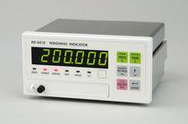 Digital weight indicator / DIN rail / vibration-resistant