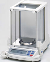 Analysis scale / with LCD display / with internal calibration