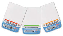 Benchtop scale / with LCD display / stainless steel / compact