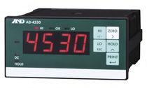 Current indicator / digital / DIN rail / for strain gauges