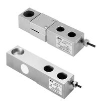 Shear beam load cell / beam type / stainless steel / strain gauge