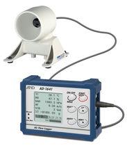Air flow data-logger / USB / with screen / environmental