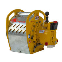 Pneumatic winch / lifting / gear / compact