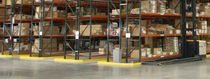 Pallet storage shelving / order picking / high-rise / for very narrow aisles