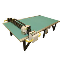 Textile cutting machine / knife / CNC / multi-ply