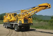 Mobile crane / boom / lattice / for construction