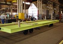 Metal cart / multipurpose / rail-mounted