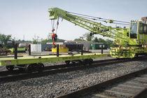 Rail-mounted cart / multipurpose