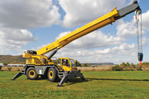 Telescopic crane / mobile / lifting / all-terrain