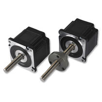 Stepper linear motor / DC / permanent magnet