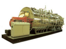 Steam boiler / gas / fire tube / horizontal