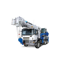 Truck-mounted crane / boom / lifting / for heavy-duty applications