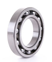 Ball bearing / deep groove / steel / precision