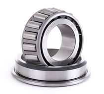 Tapered roller bearing / single-row / steel / precision