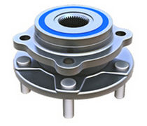 Automobile wheel bearing kit