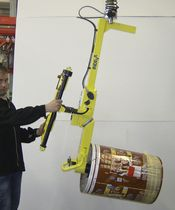 Manipulator with gripping tool / for reel handling / hanging