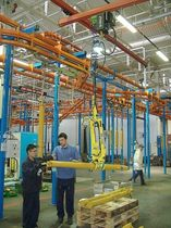 Pipe materials handling clamp / for bars