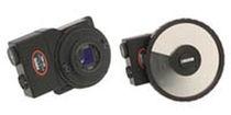 Optical polarizer holder / motorized