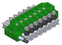Spool hydraulic directional control valve / monobloc