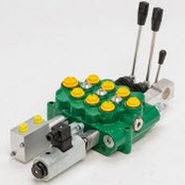 Spool hydraulic directional control valve / manual / monobloc