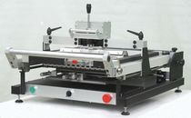 Electronic stencil printer / automatic
