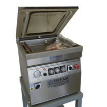 Vacuum packing machine / for powders / for the food industry / table-top
