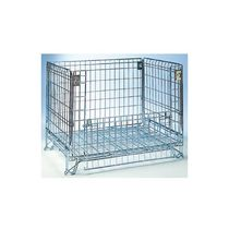 Metal crate / wire mesh / stacking / stackable