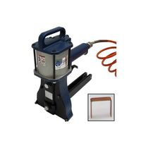 Pneumatic stapler / for cardboard boxes / for carton sealing