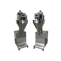 Multi-container filling machine / volumetric / screw / for powders