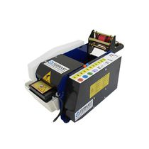 Motorized dispenser / for gummed paper / compact