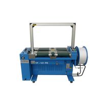 Fully-automatic strapping machine / cement / vertical