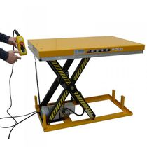 Scissor lift table / hydraulic / electric