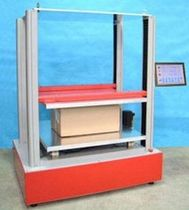 Compression testing machine / for cardboard boxes / automatic / electromechanical