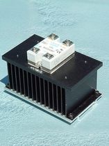 Solid-state relay / protection / DIN rail / with heatsink