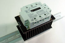 Solid-state relay / control / DIN rail / three-phase