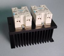Solid-state relay / control / panel-mount / three-phase