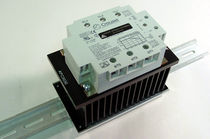 Electronic relay / phase / DIN rail / panel-mount