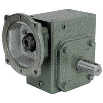 Worm gear reducer / orthogonal