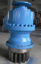 Planetary gear reducer / coaxial / for slewing drive