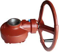 Manual valve actuator / multi-turn / rotary / bevel gear